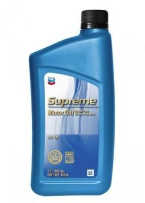 Chevron Supreme Motor Oil SAE 5W-30