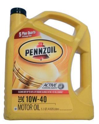 Pennzoil Motor Oil SAE 10W-40