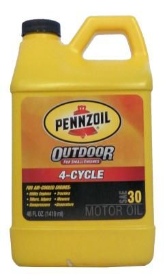 Pennzoil 4-Cycle Outdoor Motor Oil SAE 30