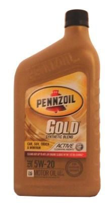 Pennzoil Gold SAE 5W-20 Synthetic Blend