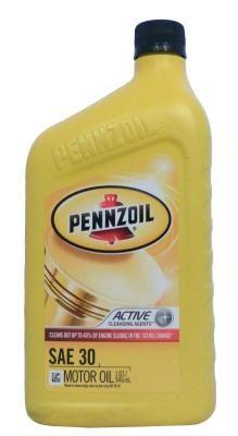 Pennzoil Motor Oil HD SAE 30