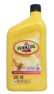 Pennzoil Motor Oil HD SAE 40