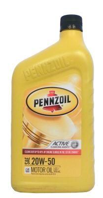 Pennzoil Motor Oil SAE 20W-50