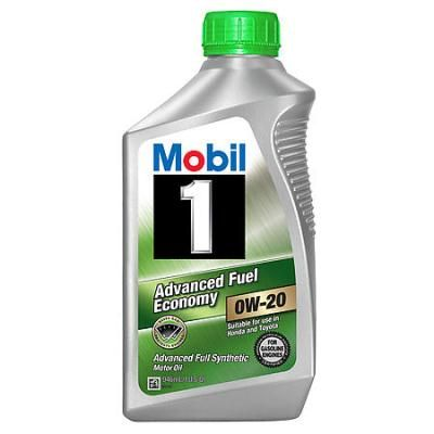 Масло моторное Mobil 1 0W-20 AFE