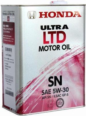 Масло моторное Honda Ultra LTD-SN 5W-30