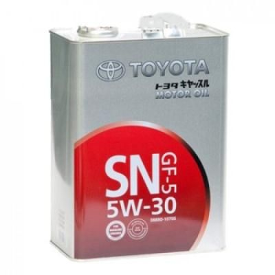 Масло моторное Toyota Motor Oil sn/gf-5