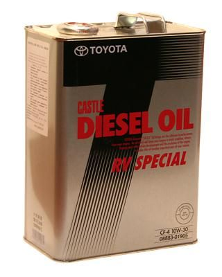 Toyota Diesel oil RV Special масло