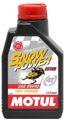 Масло моторное Motul SnowPower 4T