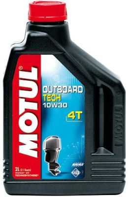Масло моторное Motul Outboard Tech 4T