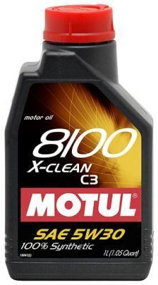 Motul 8100 X-Clean C3