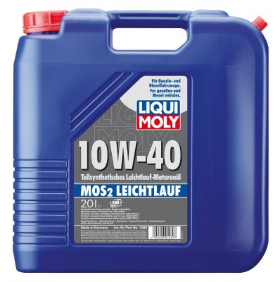 Масло моторное Liqui Moly MoS2 Leichtlauf SAE 10W-40