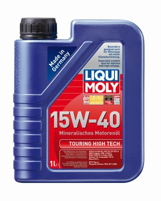 Масло моторное Liqui Moly Touring High Tech SAE 15W-40