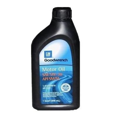 Масло моторное General Motors AC Delco Motor Oil 5W-30