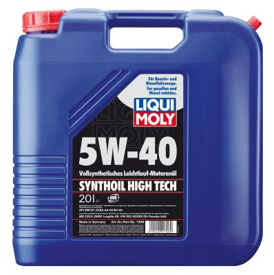 Масло моторное Liqui Moly Synthoil High Tech SAE 5W-40