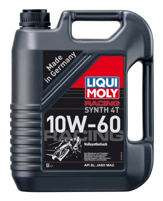 Масло моторное Liqui Moly Racing Synth 4T SAE 10W-60