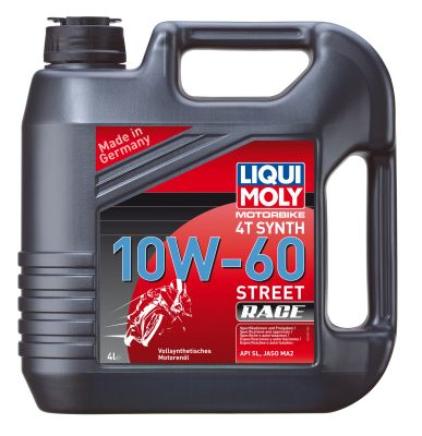 Масло моторное Liqui Moly Racing Synth 4T SAE 10W-60 Street Race