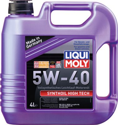 Масло моторное Liqui Moly Synthoil High Tech