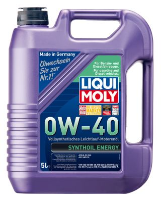 Масло моторное Liqui Moly Synthoil Energy SAE 0W-40