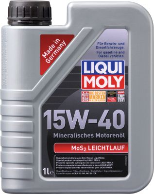 Масло моторное Liqui Moly MoS2 Leichtlauf SAE 15W-40