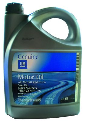 Масло моторное General Motors Motor Oil Fuel Economi Super Longlife Synthetic