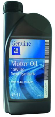 Масло моторное General Motors Motor Oil Semi Synthetic