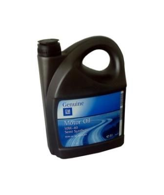 Масло моторное General Motors Motor Oil Semi Synthetic SAE 10W-40