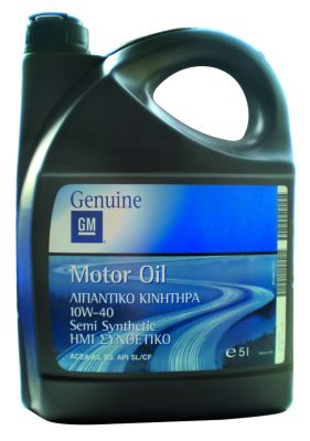 General Motors Motor Oil Semi Synthetic масло