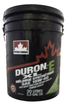 Масло моторное Petro-Canada Duron-E XL Syntetic Blend 15W-40