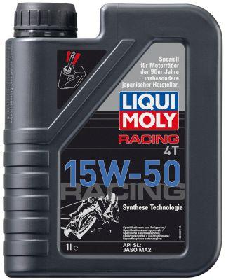 Масло моторное Liqui Moly Racing 4T SAE 15W-50