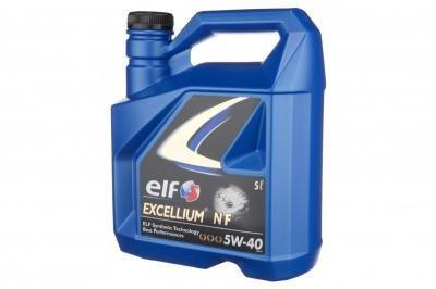 Масло моторное Elf Excellium NF 5W-40 масло моторное