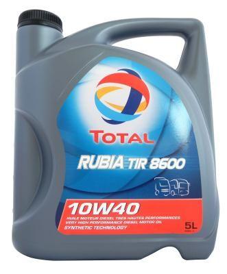 Масло моторное Total Rubia Tir 8600 10W-40
