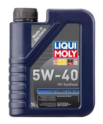 Масло моторное Liqui Moly Optimal Synth SAE 5W-40