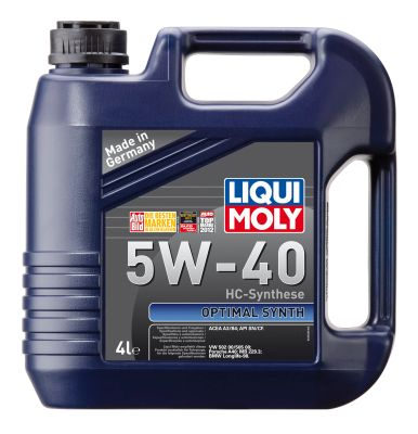 Liqui Moly Optimal Synth SAE 5W-40 моторное масло