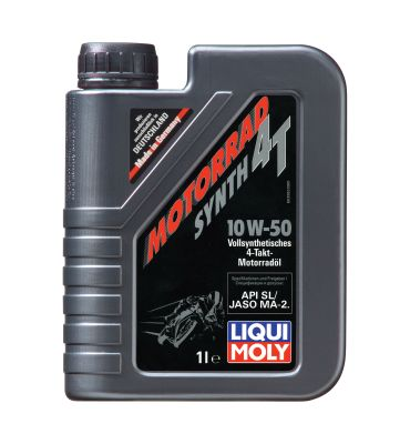Liqui Moly Motorrad Synth 4T SAE 10W-50