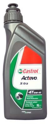 Масло моторное Castrol ACT EVO X-TRA 4T 10W-40