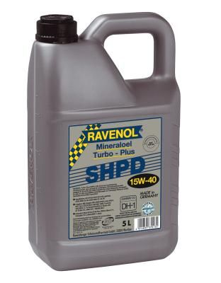 Масло моторное Ravenol Turbo-PLUS SHPD 15W-40