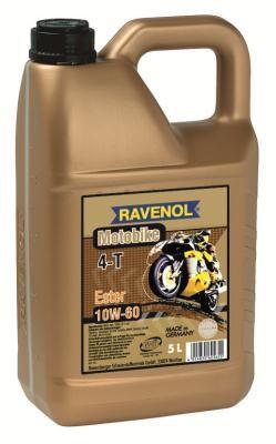 Масло моторное Ravenol Motobike 4-T Ester 10W-60