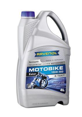Масло моторное Ravenol Motobike 4-T Ester 15W-50