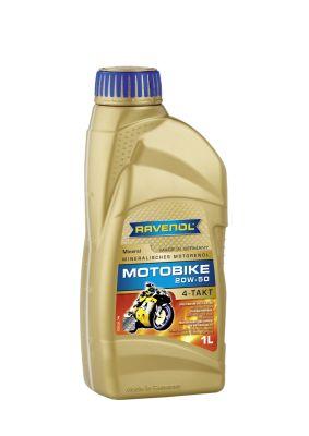 Масло моторное Ravenol Motobike 4-T Mineral 20W-50