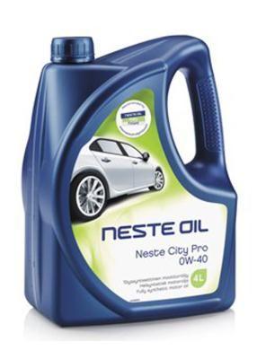Масло моторное Neste City Pro 0W-40