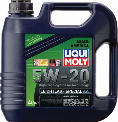 Масло моторное Liqui Moly Leichtlauf Special AA SAE 5W-20