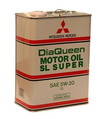 Масло моторное Mitsubishi Diaqueen SL Super