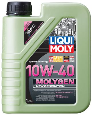 Масло моторное Liqui Moly Molygen New Generation 10W-40