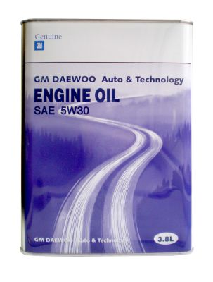 Масло моторное General Motors DAEWOO ENG INE OIL SAE 5W30