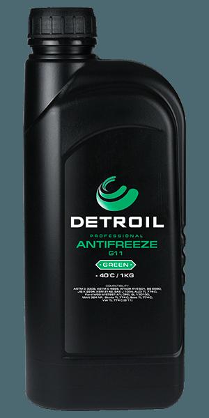 Охлаждающая жидкость DETROIL Antifreeze G12 RED (1кг)