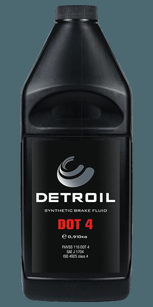 Тормозная жидкость DETROIL DOT 4 Synthetic Brake Fluids (0.910г)