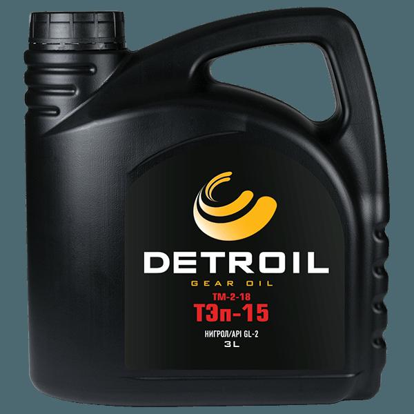 Масло моторное Масло DETROIL ТЭп-15 (ТМ-2-18) GL-2