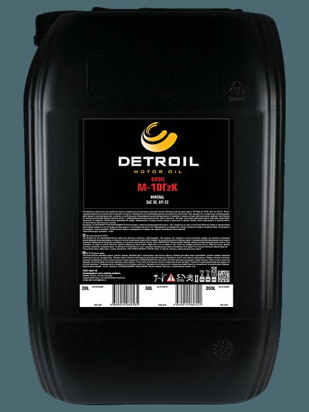 Масло моторное Масло DETROIL Diesel М-10Г2к Mineral