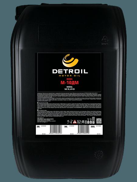 Масло DETROIL Diesel М-10ДМ Mineral (20л)