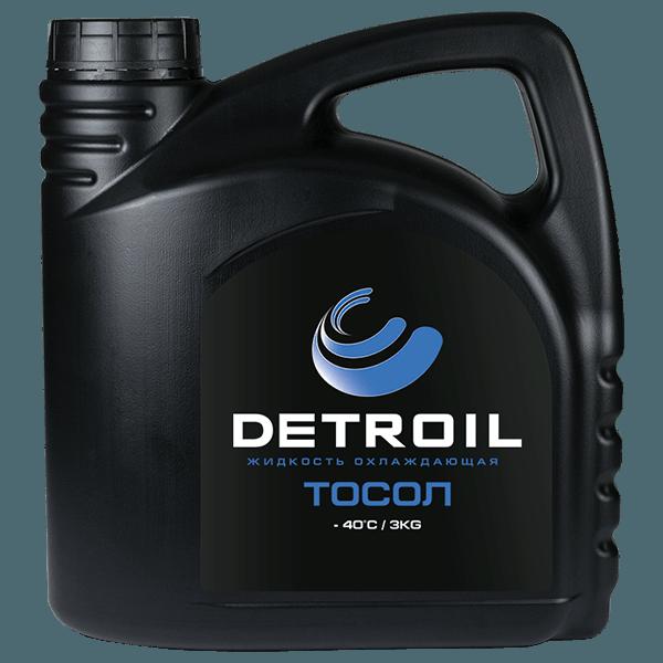 Охлаждающая жидкость DETROIL Тосол -40 (3кг)